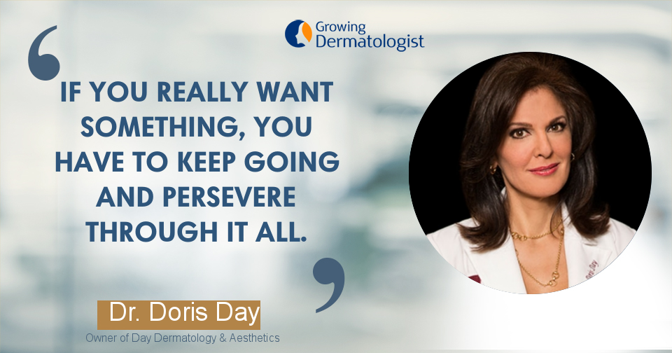 Creating your Own Unique Path as a Dermatologist with Purpose & Value with Dr. Doris Day